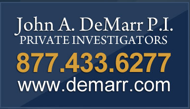 John A. DeMarr P.I. - Private Investigators